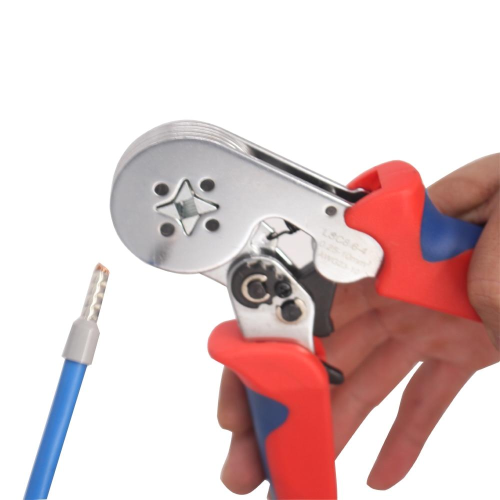 Herramienta de engarce tubular 0.25-10mm2 para engarzado de casquillo - Herramientas manuales - foto 5