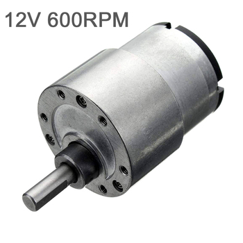 Household DC12V Geared Electric Motor Speed Reduction Motor for Robots Small Appliances Fans Electric Curtains new metal dc 6v 100rpm micro electric geared motor speed reduction geared box