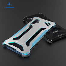 Luxury Aluminum Metal Phone Case for Samsung Galaxy Note 10 Plus Shockproof Steel Armor Hard Cover