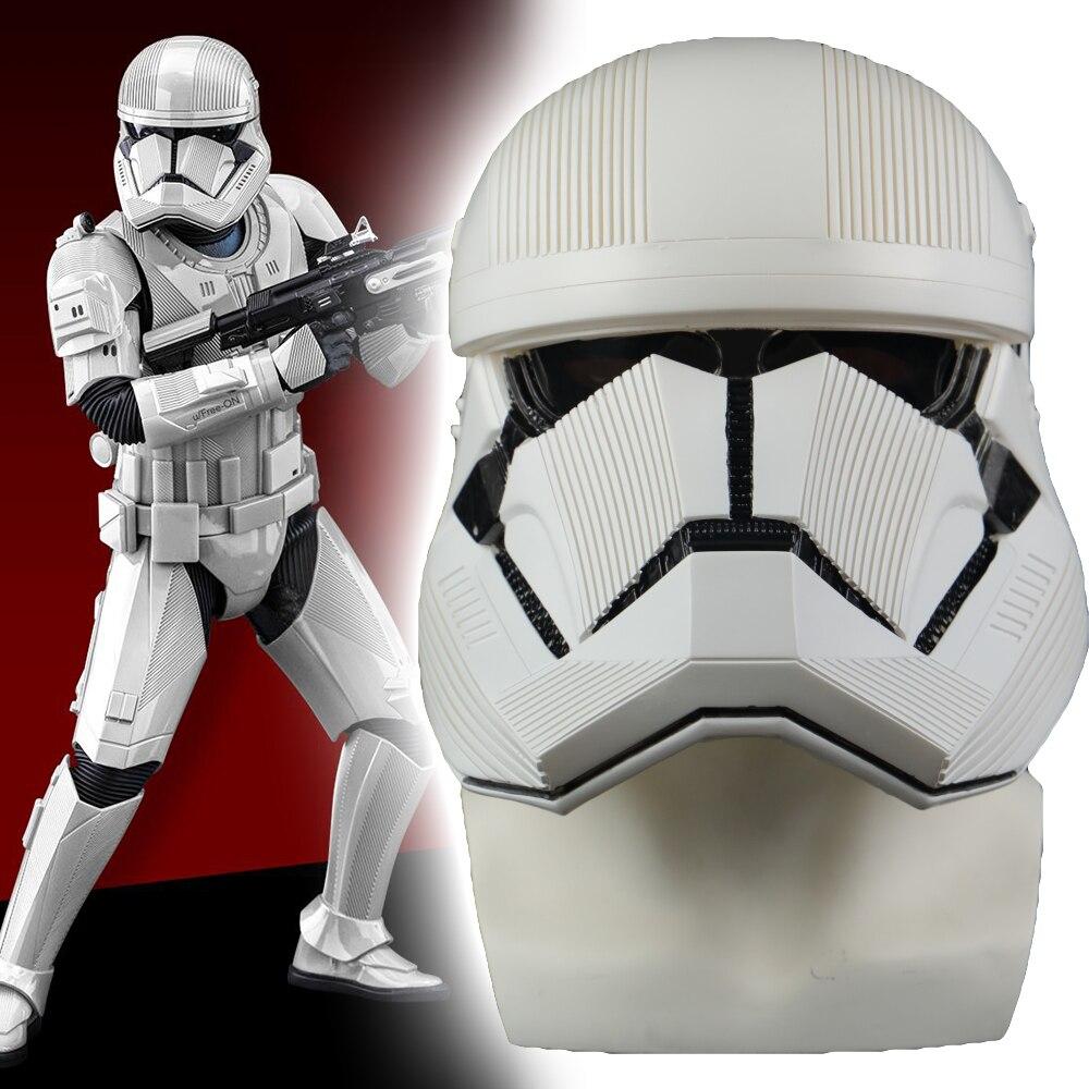 Star Wars 9 The Rise Of Skywalker Sith Trooper Helmet Cosplay Halloween Prop Hard PVC Helmets Star Wars Masks Hlemet Props