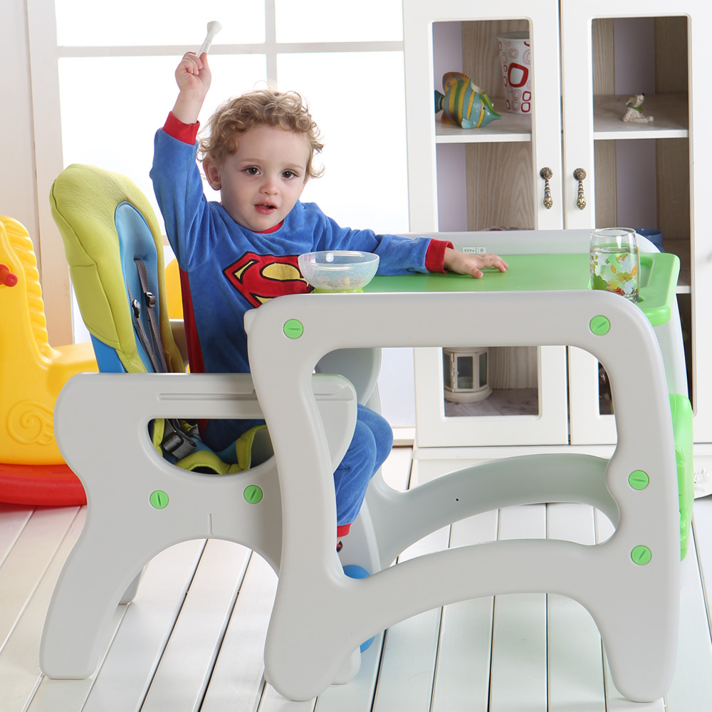 Children's Dining Chair Multi-functional Plastic Child Portable Bb Stool Baby Can Be Detachable