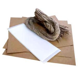 Image 4 - 30 Uds. De confeti personalizado para boda, pétalos de papel kraft, conos de confeti naturales para decoración de fiesta de cumpleaños o boda