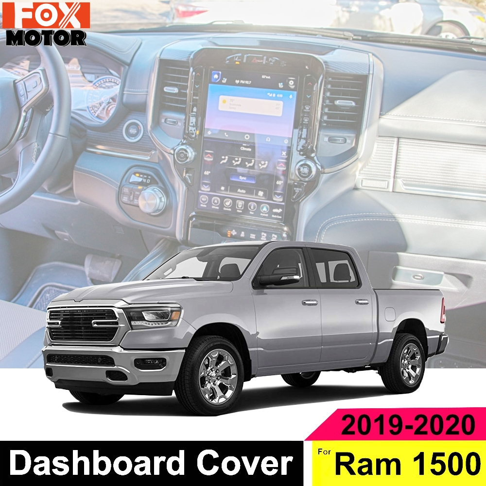 Yeeoy Dashboard Mat Dash Protector Dash Pad Sun Cover Replacement for Jeep Cherokee 2014 2015 2016 2017 2018 2019