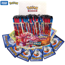 324Pcs/Box Pokemon Cards TCG:Sword&Shield Sun&Moon Battle Styles English Trading Card Game Booster Box Collectible Kid Toys Gift