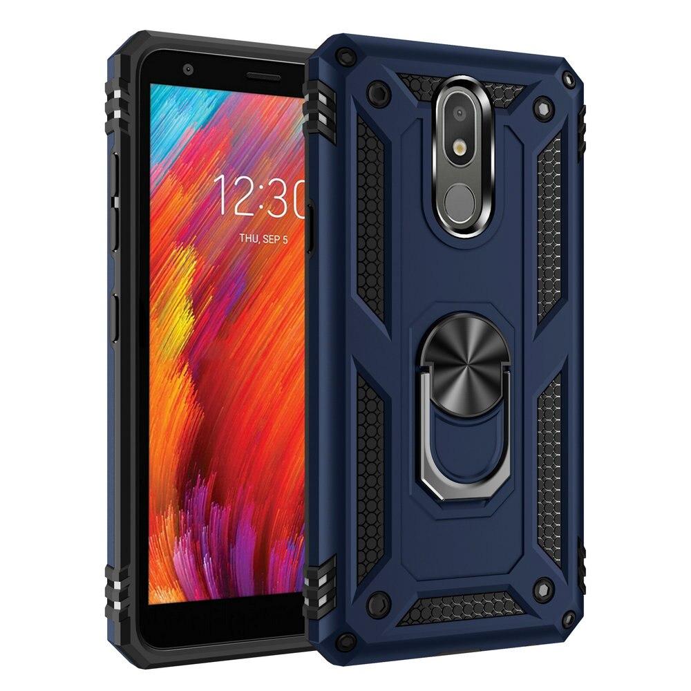 For LG K30 2019 Case Luxury Metal Ring Holder Back Cover For Coque LG K30 Case LMX410 LMX320EMW LG K 30 LGK30 30K Shockproof