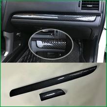 Auto Innen Dashboard Center Control Panel Molding Streifen Abdeckung Trim Aufkleber Für Subaru XV 2012 2016 Für Forester 2013 2014 LHD