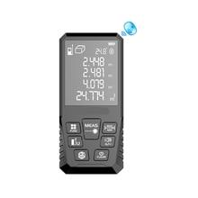 Big Screen Laser Rangefinder Telemetro Dalmierz Laserowy Distance Meter Medidor Distancia Tape Measure Digital Electronic