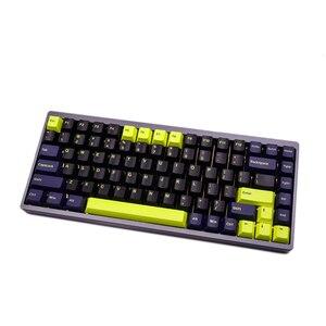 Image 4 - G MKY 160 Olivia Keycaps cerise profil DOUBLE coup épais PBT Keycaps pour MX Switch clavier mécanique