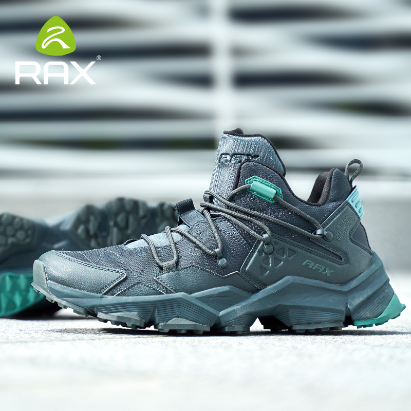 Rax Outdoor Running Shoes Men Sports Sneakers Jogging Walking Sports Shoes Athletic Trainers Women Breathable Cushion Sneakers