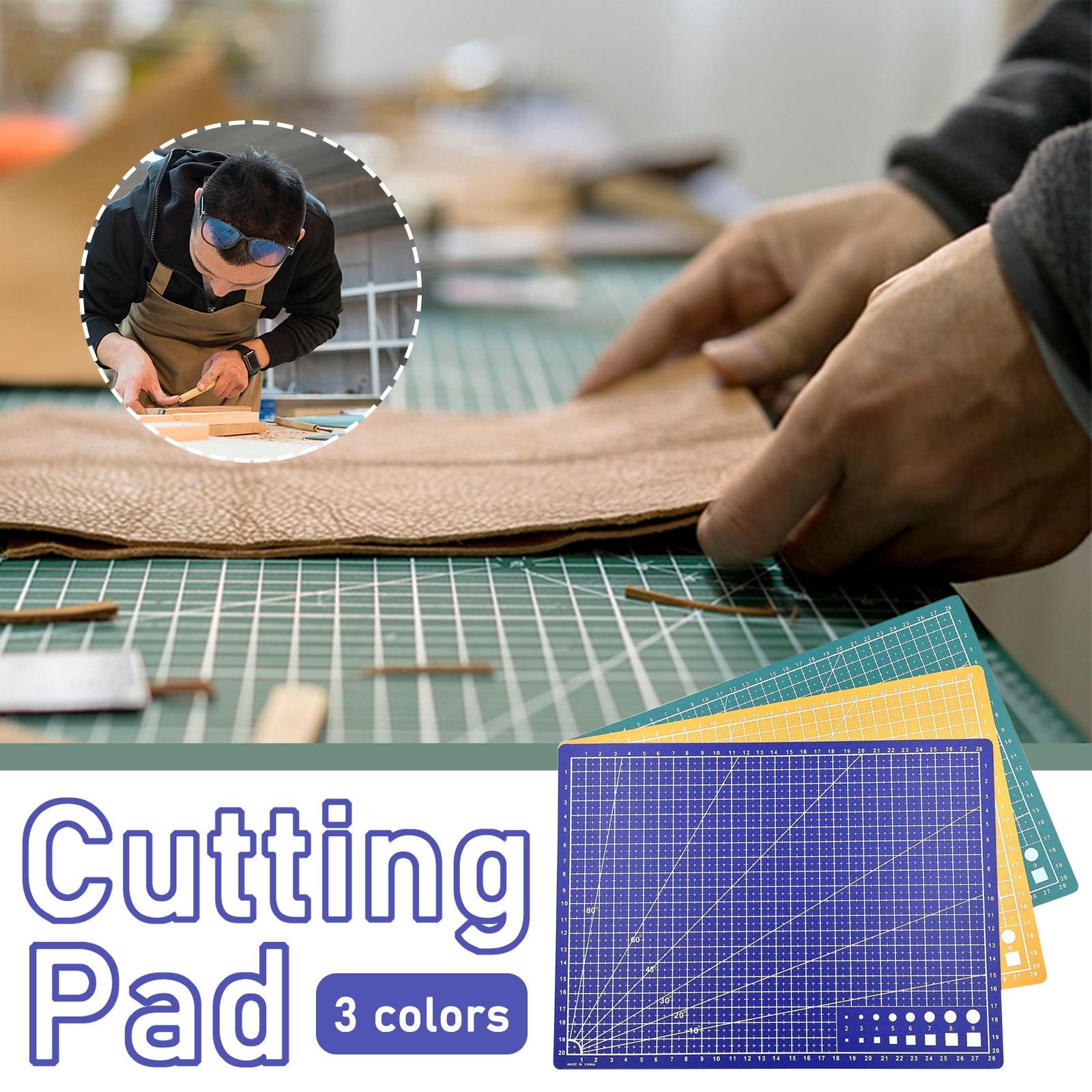 ПВХ коврик для резки A3/A4/A5, прочный коврик для резки в стиле пэчворк, инструменты для пэчворка, самовосстанавливающаяся пластина для резки, Н...