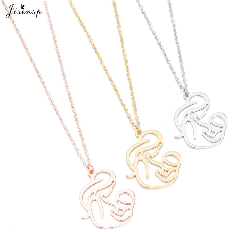 Family MUM BABY Stainless Steel Necklace_副本