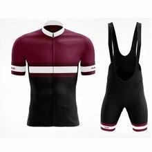 Ralvpha conjuntos de ciclismo uniforme da bicicleta verão conjunto jérsei bicicleta estrada jerseys mtb scottful wear respirável ciclismo roupas