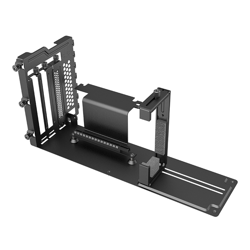 Graphics Card Holder Kit PCIe 16X Riser Cable/2X Up/Down Adjustable Holder