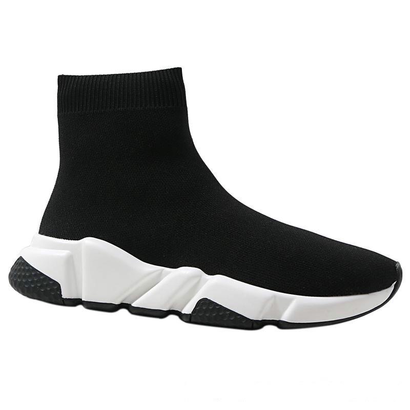 2019 20 Кроссовки; женская обувь; женская повседневная обувь из эластичного трикотажа; дышащая удобная женская обувь; спортивные носки