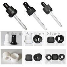 Пластиковая черная/белая крышка для пипетки с винтовым прессом
