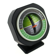 LED Car Compass Angle Slope Meter Balancer Measure Equipment Vehicle Inclinometer for Auto Car Vehicle Boat Tourism fashion new hot 1 pc 3 in 1 auto car compass inclinometer angle slope level meter finder gradient balancer decoration