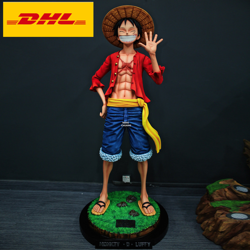 Luffy 14cm PVC Anime Action Figure Statue Gift Toy No Box One Piece Monkey D