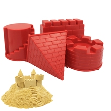 Play Sand Tools-Sets Castle-Model Outdoor Toys Dune Beach-Toys Baby Children Summer Seaside