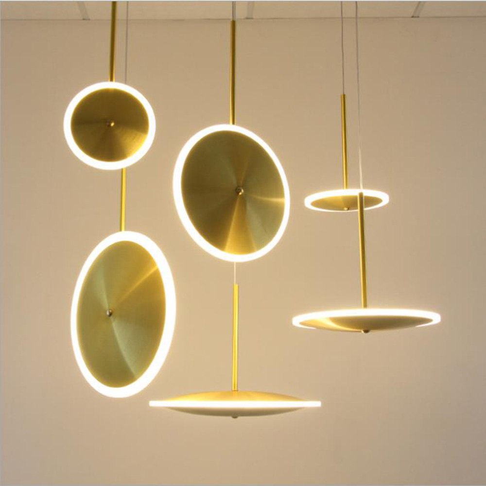 Zeouno Pendant Loft Lamp Minimalist /creative /personality Bedroom LED Pendant Lights Long Line Hanging Lamp 20cm 30cm 40cm