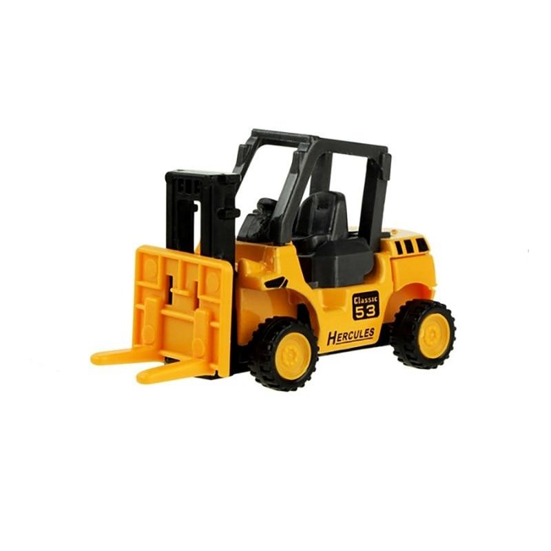 8 видов стилей мини-инженерный автомобиль трактор игрушка самосвал Модель классическая игрушка сплав автомобиль детские игрушки инженерный автомобиль - Цвет: Type 4
