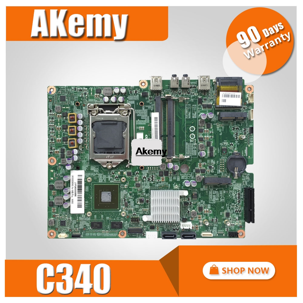 For Lenovo C340 C440 AIO Motherboard 90004956 LGA1155 Mainboard 100%tested Fully Work