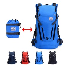 30L Hiking Backpack Packable Lightweight Waterproof Foldable Daypack Men Women for Climbing Camping Cycling Bicycle Travel 30l waterproof nylon bicycle riding backpack outdoor climbing camping hiking cycling backpacks men women packsack