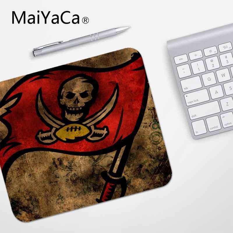 MaiYaCa Hohe Qualität Tampa Bay Buccaneers Angepasst laptop Gaming maus pad Glatte Schreiben Pad Desktops Mate gaming maus pad