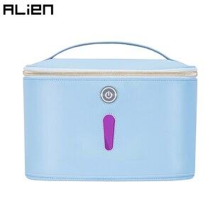 ALIEN LED UV lumière désinfectant sac UVC désinfection lampe Portable boîte ultraviolette sous-vêtements bébé bouteille jouet étui masque stérilisateur