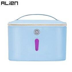 Bolsa de desinfectante ligera ALIEN LED UV lámpara de desinfección UVC caja ultravioleta portátil ropa interior botella de bebé caja de juguete esterilizador de máscara