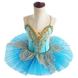 Cisne lago meninas ballet tutu ballet traje bailarina palco mostrar crianças ballet vestido de dança profissional para crianças