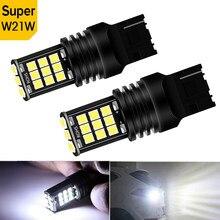 2X W21W 7440 T20 LED P21W 1156 BA15S LED ampoule feu arrière pour Chevrolet Cruze Captiva Aveo Orlando Trax Lacetti 2011 CANBUS