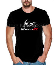 2019 del Nuovo Mens T Camicette Fan T-shirt Germania Moto R1200Rt R 1200 RT Tee shirt(China)