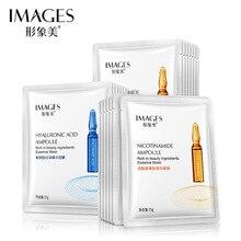Imágenes de ácido hialurónico nicotinamide antiedad mascarillas de piel tierna mascarillas para dormir mascarilla facial coreana para el cuidado de la piel