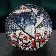 GODKI luksusowe drzewo ptaków oświadczenie obrączki dla kobiet ślub Cubic cyrkon CZ afryki Bridal Dubai Chic pierścionki biżuteria 2020