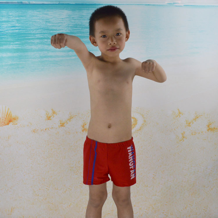 Children Swimming Trunks Children Swimming Trunks Men's Swimming Trunks (Suitable 3-9-Year-Old) 5634 Top Grade Swimming Trunks