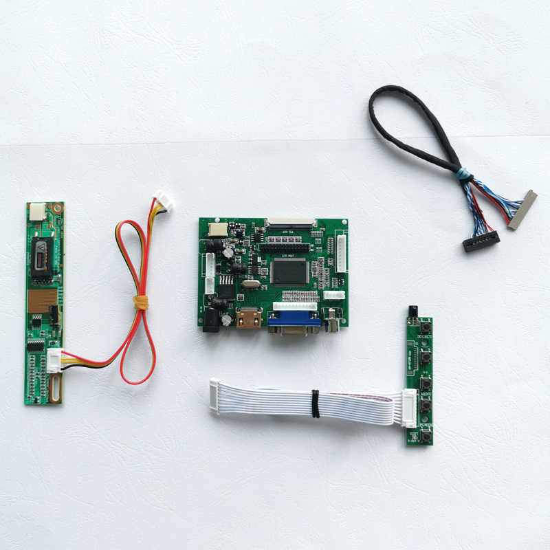 "Voor N133I1/N133I3 1 Ccfl Inverter Lvds 20-Pin Hdmi Vga 2AV Laptop Scherm 1280*800 13.3 ""Lcd-scherm Controller Drive Board Diy Set"