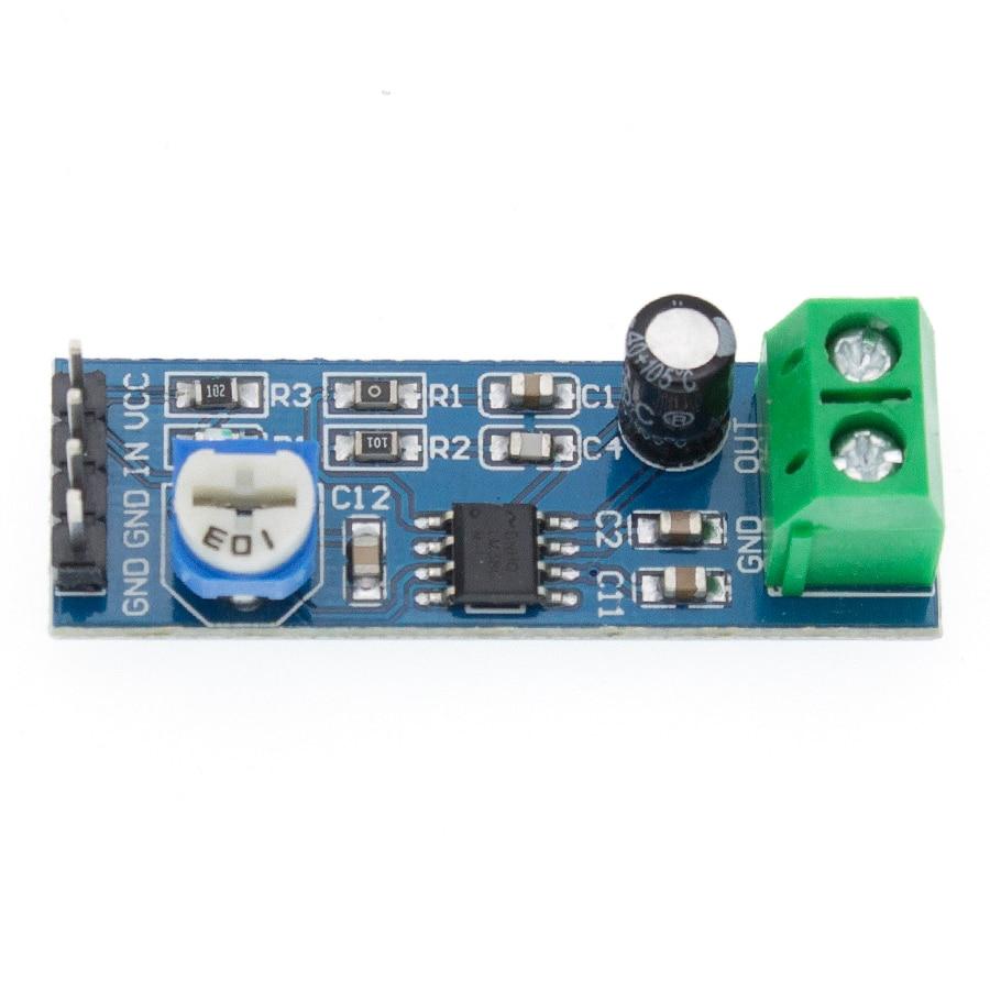 100PCS LM386 Audio Amplifier Module 200 Times 5V-12V Input 10K Resistance