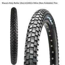 Maxxis holy roller bmx26 26*2.4 24*2.4 ultralight pneu de bicicleta de rua pneus piso escalada pneus cidade pulando pneu