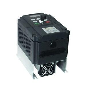 Image 3 - 4kw VFD шаг вверх преобразователь напряжения инвертор 220v до 380v однофазный 220V конвертер в трехфазный 380v силовой трансформатор переменного тока