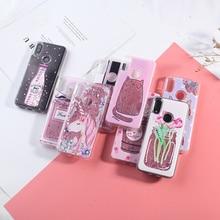 For Xiaomi Redmi Note 7 Case Liquid Glitter Case For Xiaomi Redmi Note 5 Pro 4 4X Mi 8 5 4A 5A S2 Plus Dynamic Quicksand Cover все цены