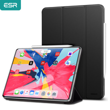 ESR Magnetic Smart Case for iPad Pro 11 2018 Cover Trifold Stand Magnet Case Magnetic Attachment Rubberized Cover for iPad Pro11
