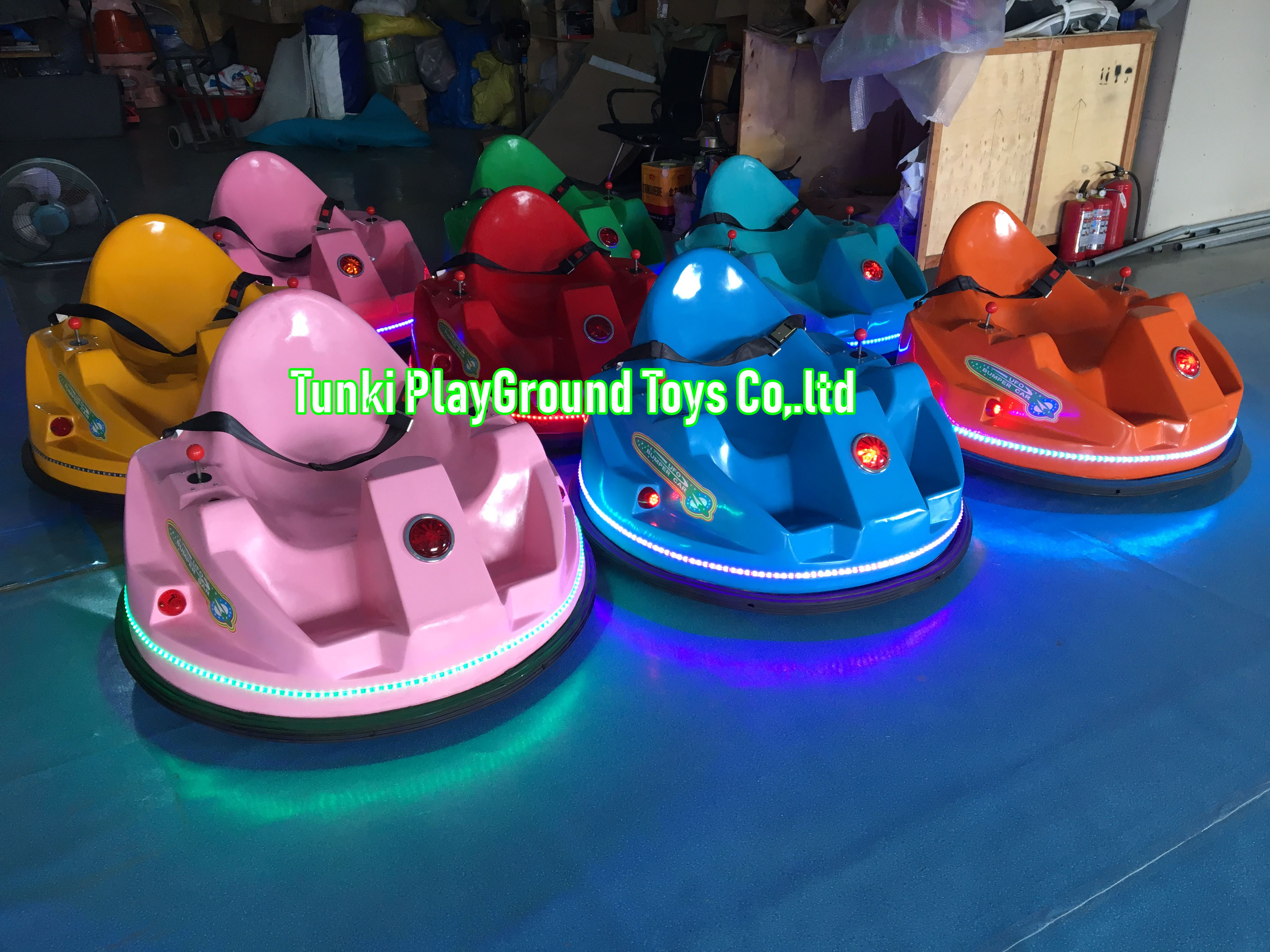 Kiddie Rides Coin Operated Amusement Electric Motorcycle Bumper Car For Sale