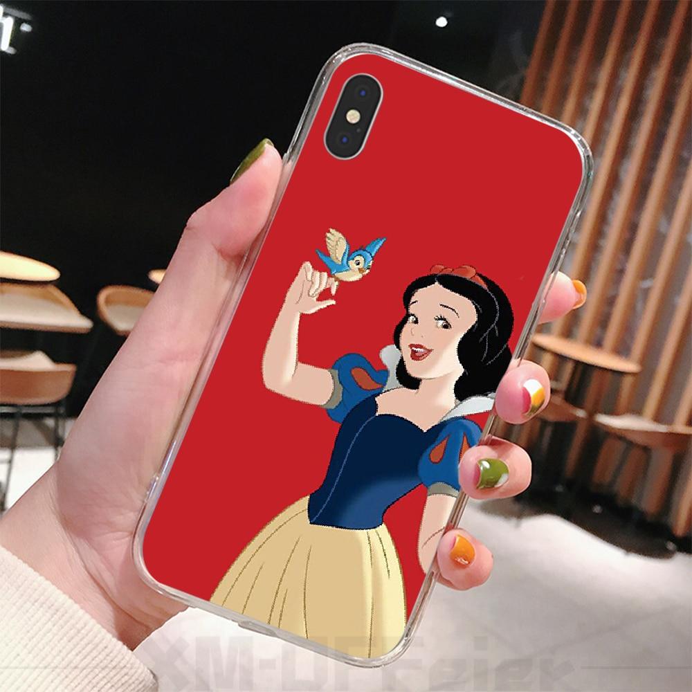 Viviana Snow White Coque Shell Ponsel Case untuk iPhone 6 6s Plus 7 7 Plus X XS XR X Max 11 11 Pro 11 pro Max Cover
