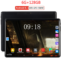 2020 NEW 10.1 inch tablet PC android 8.0 Octa core RAM 6GB ROM 128GB 3G/4g LET Smart Phone android 8 WiFi GPS tablets PC|Tablets|   -