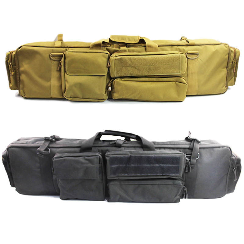 1000D Nylon M249 Gun Bag Case Military Hunting Rifle Backpack Bag Outdoor Shoot Gun Carrying Protection Case With Shoulder Strap