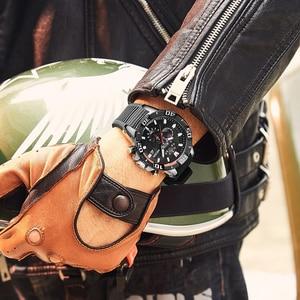 Image 5 - MEGIR Men Watches Top Brand Luxury Chronograph Sport Watch Silicone Quartz Military Watches Clock Relogio Masculino Reloj Hombre