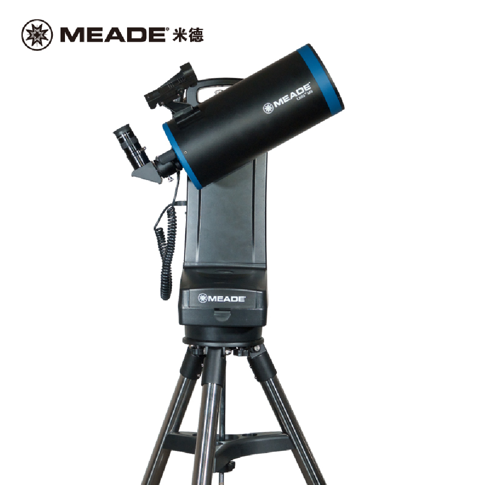 MEADE LX65 Maca LX65-Mak5 127mm Large Aperture Aluminum Single Fork Arm Theodolite Astronomical Telescope Automatic Star Search