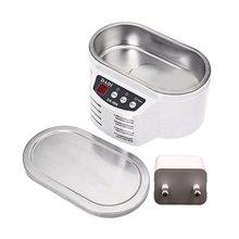 Mini Ultrasonic Jewelry Cleaner Mini Portable Jewelry Cleaner Electric Eyeglass Cleaner Ultrasonic Cleaner 2019