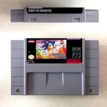 Sonic le hérisson carte de jeu daction Version américaine langue anglaise