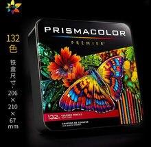 Prismacolor não-tóxico esboçar pintura lápis a óleo profissional cor lápis 36/48/72/150 pacote conjunto de pintura do artista do cor lapis
